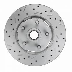 GPS Automotive MaxGrip XDS Cross Drilled & Slotted Rotor