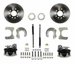 Rear Disc Brake Conversion Kits - Standard Rear Disc Brake Conversion Kits - LEED Brakes - Rear Disc Brake Conversion Kit - Mopar 8-3/4 9-3/4 Rear Axles