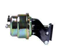 Power Brake Booster Kits - Power Booster Only - LEED Brakes - 7 inch Dual power booster Zinc Plated