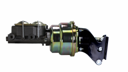 LEED Brakes - 7 inch Dual power booster , 1-1/8 inch Bore master, side mount valve, disc/drum - Image 2