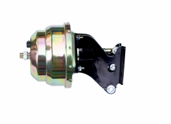 Power Brake Booster Kits - Power Booster Only - LEED Brakes - 8 inch Dual power booster with bracket (Zinc)
