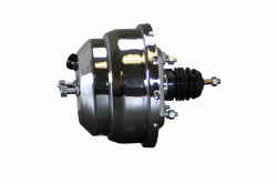 LEED Brakes - 8 inch Dual power booster  (Chrome) - Image 2