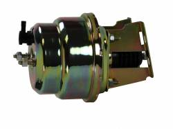 Master Cylinders & Power Boosters - Power Brake Booster Kits - LEED Brakes - 7 inch Dual power booster (Zinc)