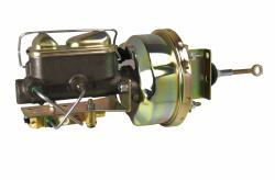 LEED Brakes - 7 inch Power Brake Booster , 1 inch Bore master , bottom mount valve disc/disc (zinc)