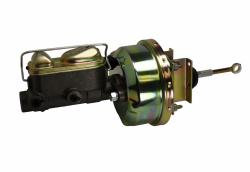 LEED Brakes - 7 inch Power Brake Booster , 1 inch Bore master , bottom mount valve disc/disc (zinc) - Image 2