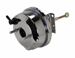 LEED Brakes - 7 inch Power Brake Booster with brackets (chrome)