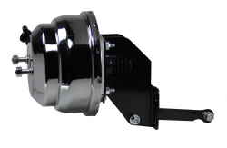 LEED Brakes - 8 inch Dual power booster , 1 inch Bore master with Adjustable Valve(Chrome) - Image 3