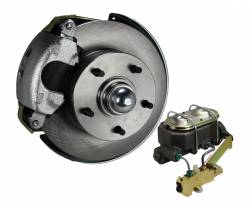Front Disc Brake Conversion Kits - Manual Front Kits - Manual Front Kit - Stock Ride Height