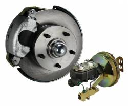 Front Disc Brake Conversion Kits - Power Front Kits - Power Front Kit - Stock Ride Height