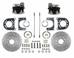 Rear Disc Brake Conversion Kits - LEED Brakes - Rear Disc Brake Conversion Kit - MaxGrip XDS- Ford 8in 9in Small bearing