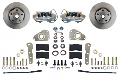 Front Disc Brake Conversion Kits - Spindle Mount Kits - LEED Brakes - Front Disc Brake Conversion Kit Spindle Mount