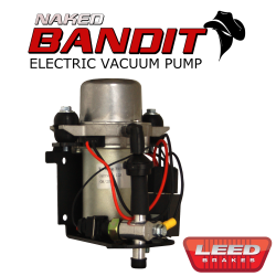 Vacuum Pumps & Parts - LEED Brakes - Electric Vacuum Pump Kit - Naked Bandit Series