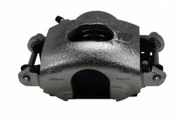 """LEED Brakes - Power Front Disc Brake Conversion Kit 2"""" Drop Spindle Cross Drilled and Slotted Rotors with 9"""" Zinc Booster Cast Iron M/C Adjustable Proportioning Valve - Image 9"""