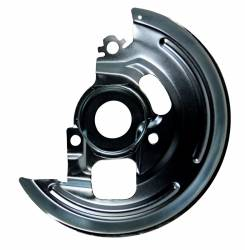 """LEED Brakes - Power Front Disc Brake Conversion Kit 2"""" Drop Spindle Cross Drilled and Slotted with 9"""" Zinc Booster Cast Iron M/C 4 Wheel Disc Side Mount - Image 6"""