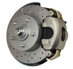 GM Front DIsc Brake Conversion Kit - LEED Brakes