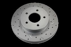 LEED Brakes - Rear Disc Brake Conversion Kit - Mopar 8-1/4  9-1/4 Rear Axles MaxGrip XDS Rotors - Image 4