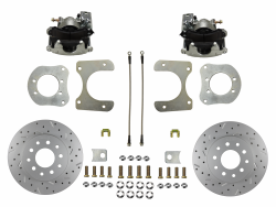 LEED Brakes - Rear Disc Brake Conversion Kit - Mopar 8-1/4  9-1/4 Rear Axles MaxGrip XDS Rotors