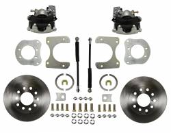 Rear Disc Brake Conversion Kits - Standard Rear Disc Brake Conversion Kits - LEED Brakes - Rear Disc Brake Conversion Kit - Dana 35, Dana 44, Chrysler 8-1/4