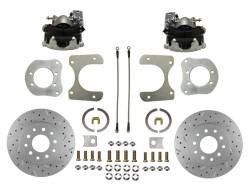 Rear Disc Brake Conversion Kits - MaxGrip XDS Rear Disc Brake Kits  - LEED Brakes - Rear Disc Brake Conversion Kit with MaxGrip XDS Rotors - Dana 35, Dana 44, Chrysler 8-1/4