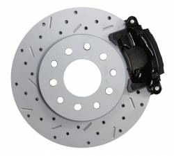 LEED Brakes - Rear Disc Brake Conversion Kit with MaxGrip XDS Rotors Black Calipers - Dana 35, Dana 44, Chrysler 8-1/4 - Image 3