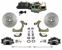 Power Front Kit - Stock Ride Height - MaxGrip XDS Upgrade - LEED Brakes - Power Front Disc Brake Conversion Kit with Adjustable Proportioning Valve | MaxGrip XDS