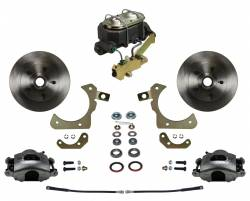 LEED Brakes - Manual Front Disc Brake Conversion Kit with Disc Drum Valve