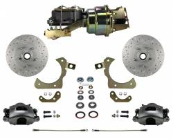 Power Front Kit - Stock Ride Height - MaxGrip XDS Upgrade - LEED Brakes - Power Front Disc Brake Conversion Kit with Disc Disc Valve | MaxGrip XDS