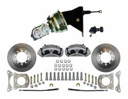 Power Front Kit - Stock Ride Height - _Standard Kit - LEED Brakes - Power Front Disc Brake Conversion Kit