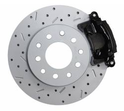 LEED Brakes - Rear Disc Brake Conversion Kit - GM 10 Bolt Axles with 3 Bolt Flange - Black Calipers and MaxGrip XDS - Image 2