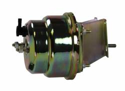 Power Brake Booster Kits - Power Booster Only - LEED Brakes - Compact-10 Series 7 inch Dual power booster Zinc Plated