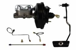 Power Brake Booster Kits - Power Brakes - 4 Wheel Drum Brakes - Power Drum Brake Booster Kit