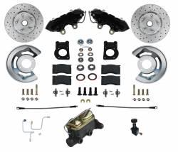 65-66 Mustang Front Disc Brake Kit - LEED Brakes