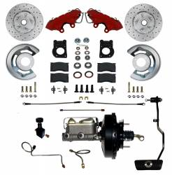 LEED Brakes Mustang Power Front Disc Brakes