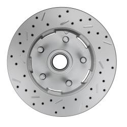 Spindle Kit with Drilled Rotors and Red Powder Coated Calipers - Image 4