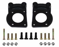 Power Front Kit with Drilled Rotors and Black Powder Coated Calipers - Image 6