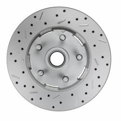 Spindle Kit with Drilled Rotors and Black Powder Coated Calipers - Image 4