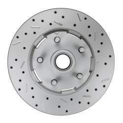 Spindle Kit with Drilled Rotors and Black Powder Coated Calipers - Image 5
