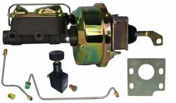 LEED Brakes - Hydraulic Kit - Power Brakes 64.5-66 Mustang Manual Transmission