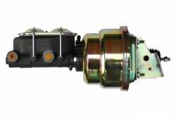 7 inch Dual power booster , 1-1/8 inch Bore master (Zinc)